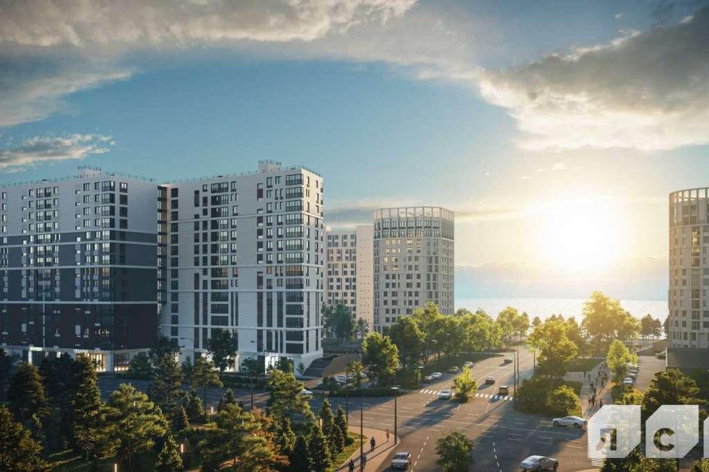 Купить квартиру в Морская набережная I очередь в Санкт-Петербурге