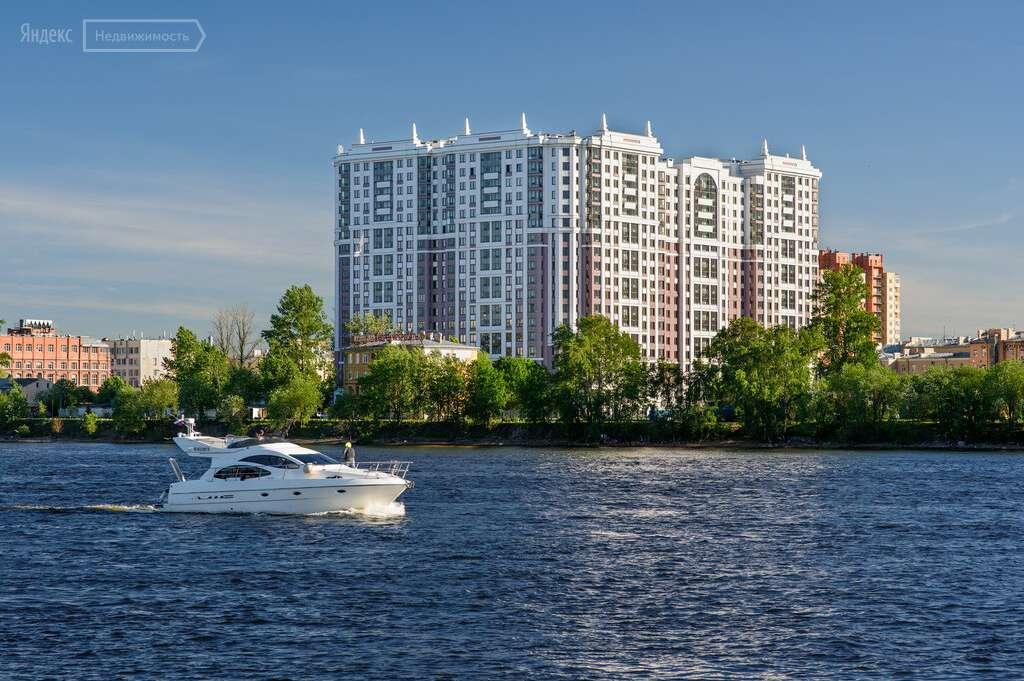Купить квартиру в ЖК Дом на Набережной в Санкт-Петербурге