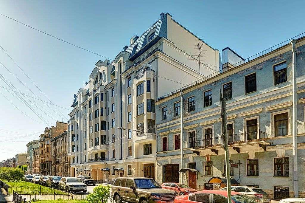 Купить элитную квартиру в 4-я Советская, 9 в Санкт-Петербурге