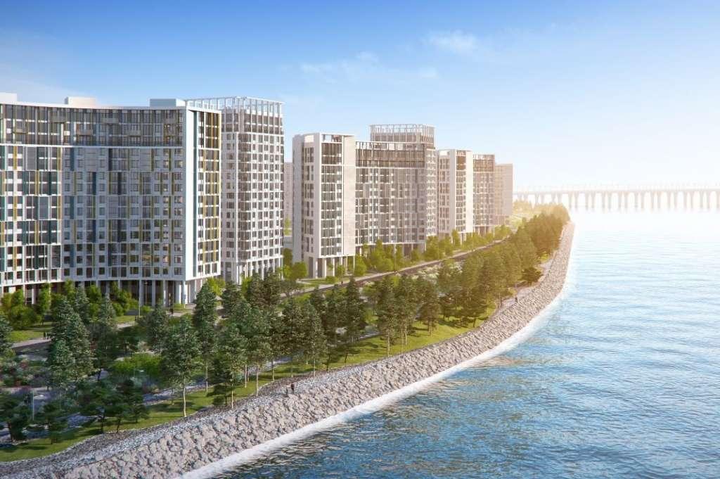 Купить элитную квартиру в  Морская набережная.SeaView II очередь в Санкт-Петербурге