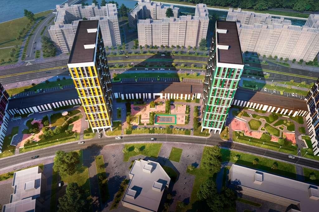 Купить квартиру в LEGENDA Героев в Санкт-Петербурге